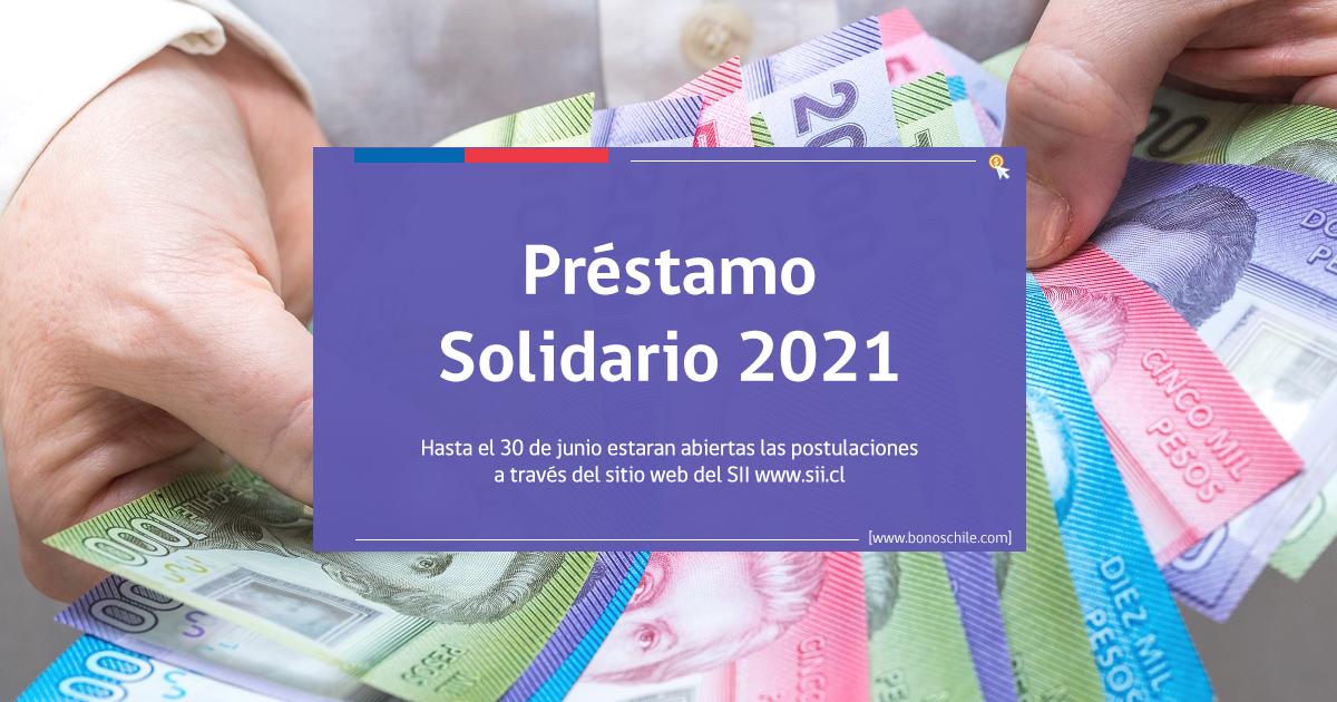 solicitud prestamo solidario 2021