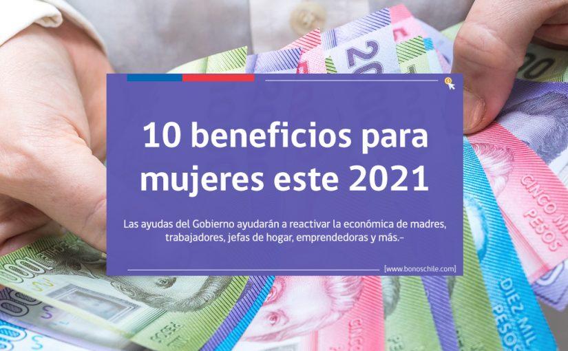 beneficios para mujeres este 2021
