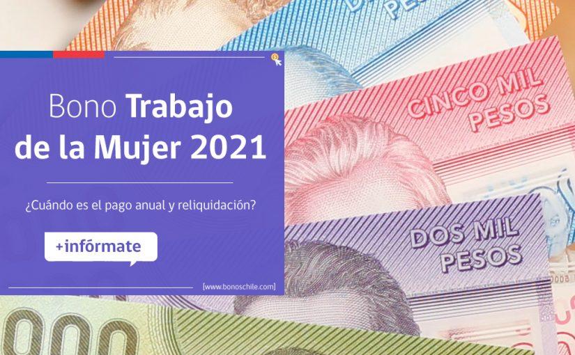 pago anual 2021 bono trabajo mujer